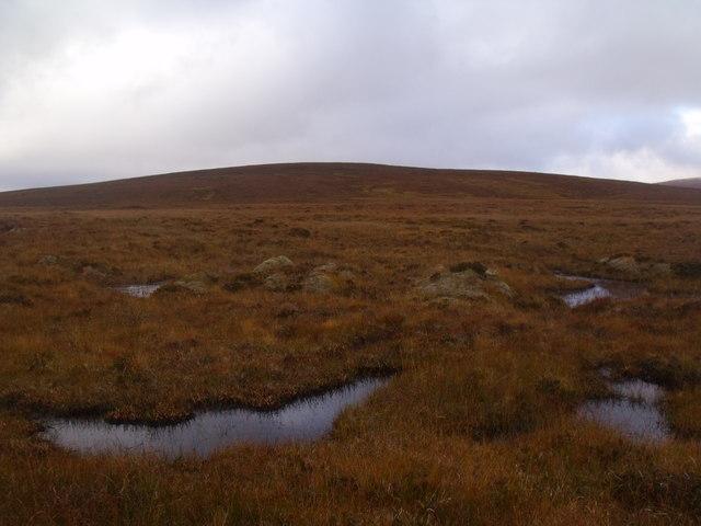 South-east slopes of Cnoc an Alaskie near Crask Inn, Sutherland