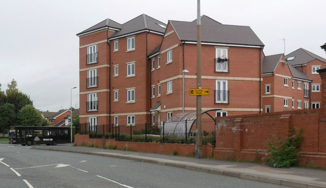 Block of flats, Wordsley