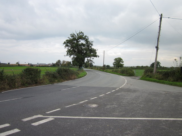 Road Junction at Ridleywood