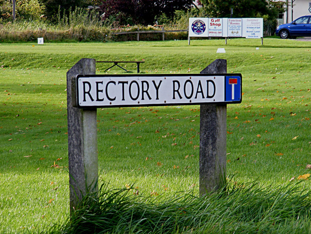 Rectory Road sign