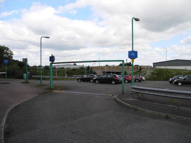 Sutton Parkway Railway Station car park