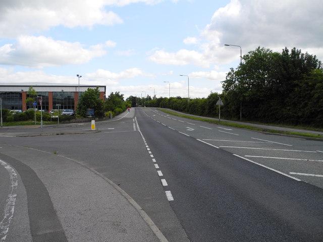 Julia's Way/Low Moor Road junction B6021, Sutton in Ashfield