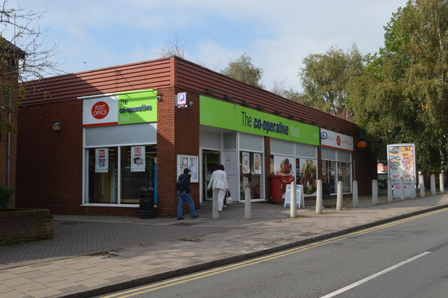 Norton Canes Post Office and Co-op