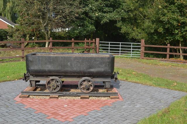 Colliery wagon