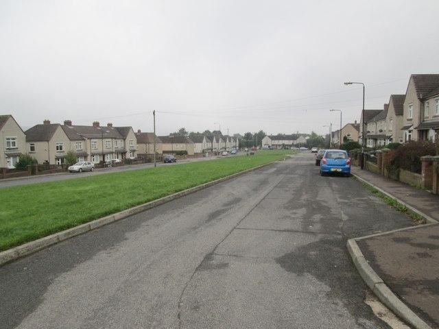 Grove Park - looking towards Grove Avenue