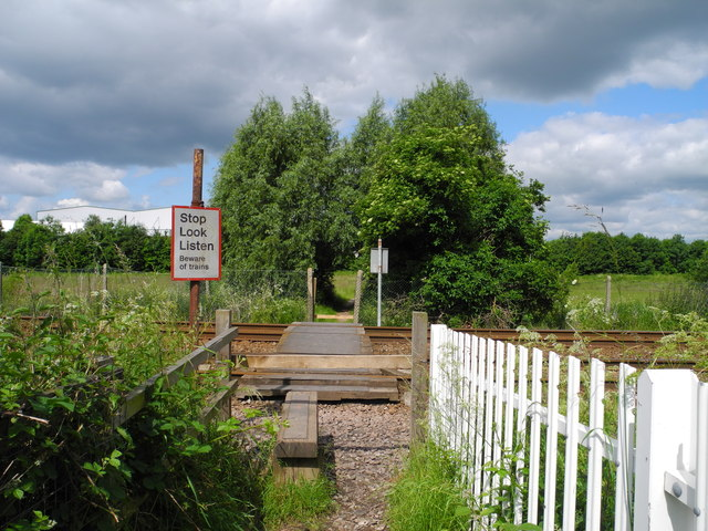 Footpath Level Crossing, Sutton in Ashfield