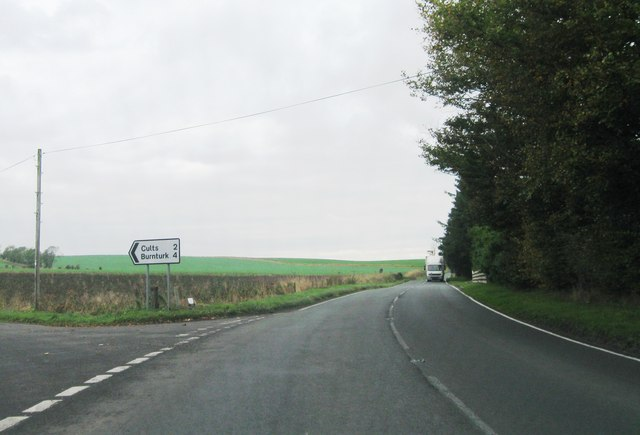Road junction, A916