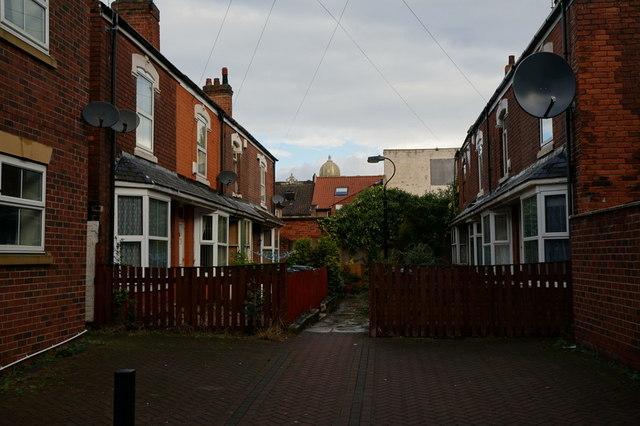 Cottingham Avenue off Osborne Street, Hull