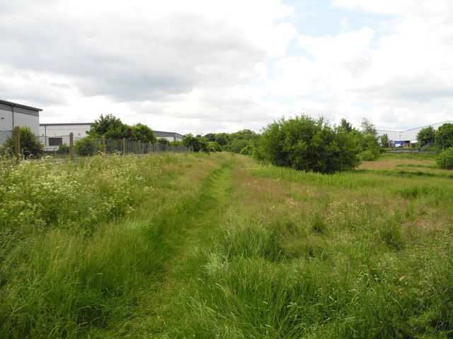 Path near Station Park Industrial Estate