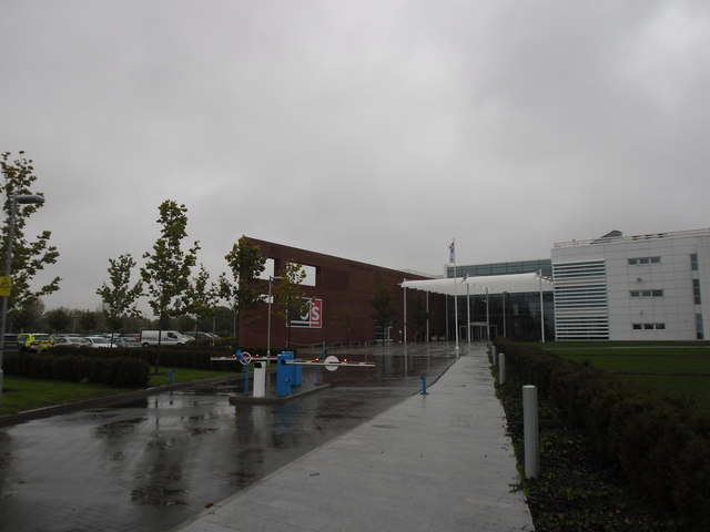 A rainy day at HQ