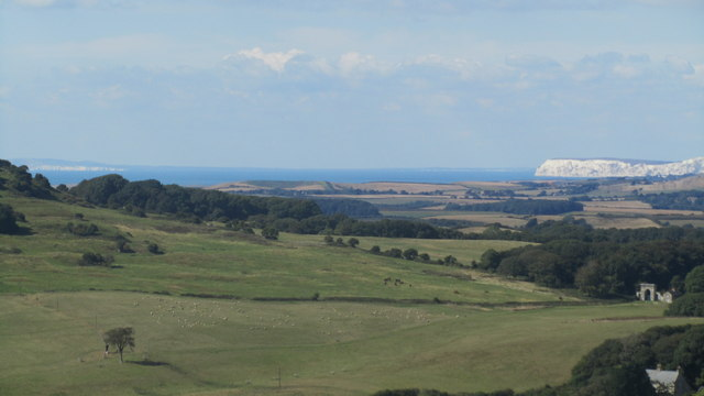 Spectacular views from site of Cook's Castle