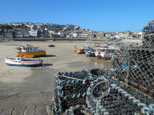 St. Ives harbour from Smeaton's Pier