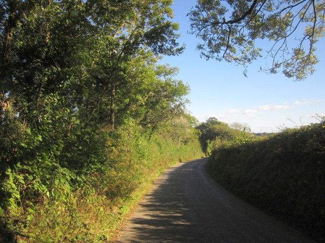 Lane to Tartendown Cross