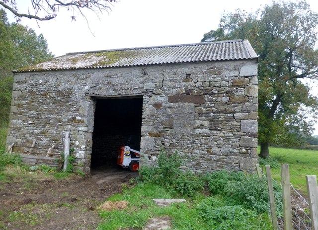 Cattle Shelter Near Aughton Barns