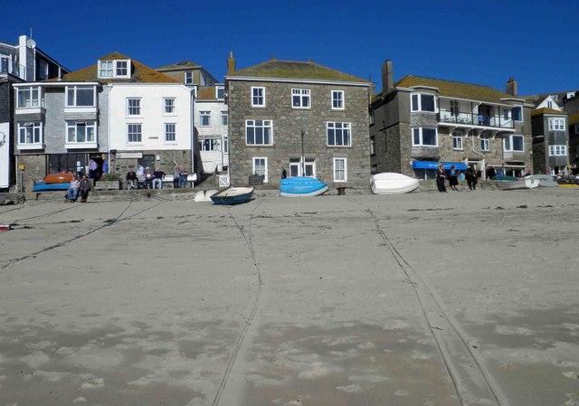 St. Ives harbour side