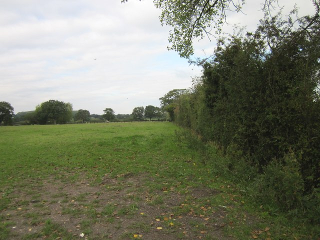 Footpath to Wrexham Road