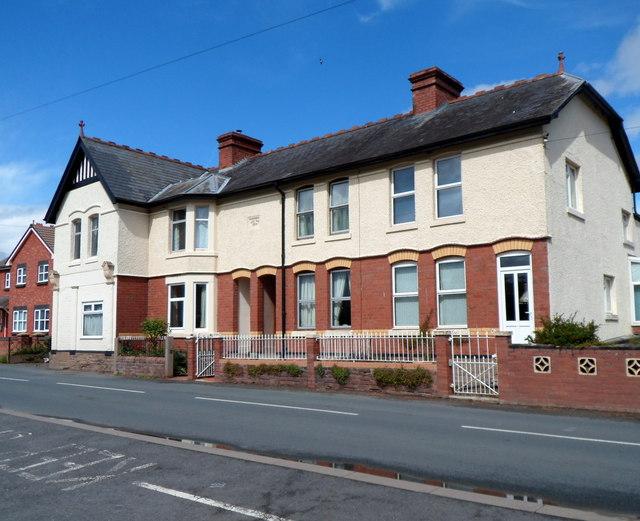 Edwardian houses, Peterchurch
