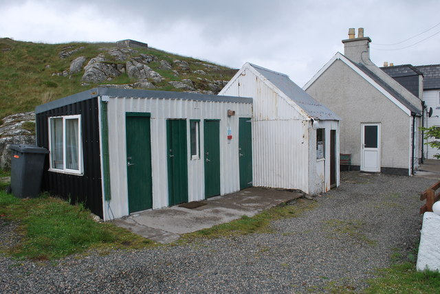 Toilets and campers' kitchen