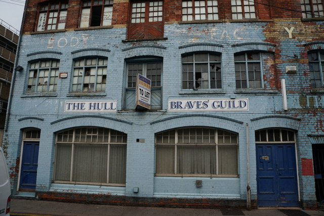 The Hull Braves' Guild on Roper Street, Hull