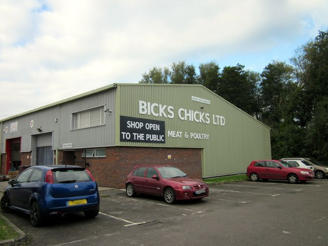 Bicks Chicks at Wrexham Industrial Estate