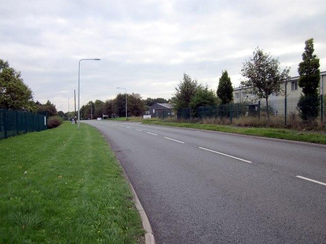 Abenbury Way, Wrexham Industrial Estate.