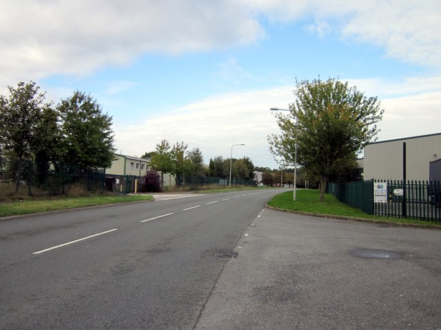 Abenbury Way, Wrexham Industrial Estate.