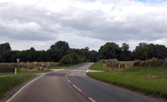 Tank crossing area on A338