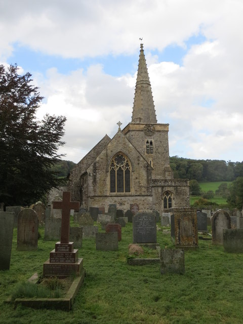 The church of St John the Baptist at Bishop's Tawton