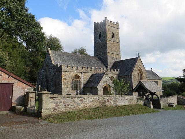 St Peter's Church at Tawstock