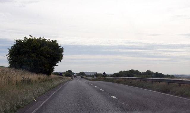 A303 heading east