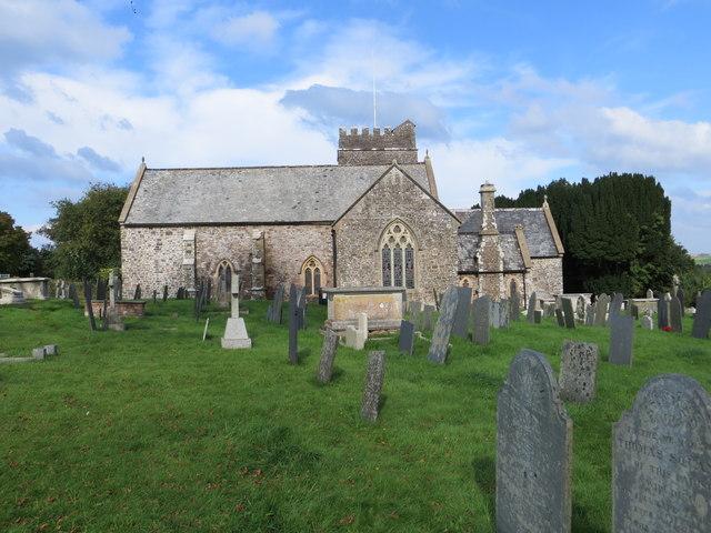 St Helen's Church at Abbotsham
