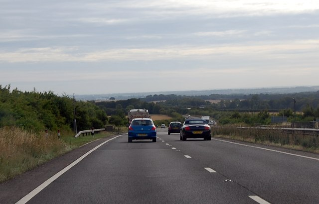 A303 towards Thruxton