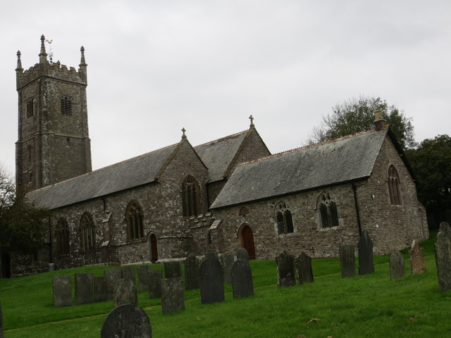 The church of St Mary and St Benedict at Buckland Brewer
