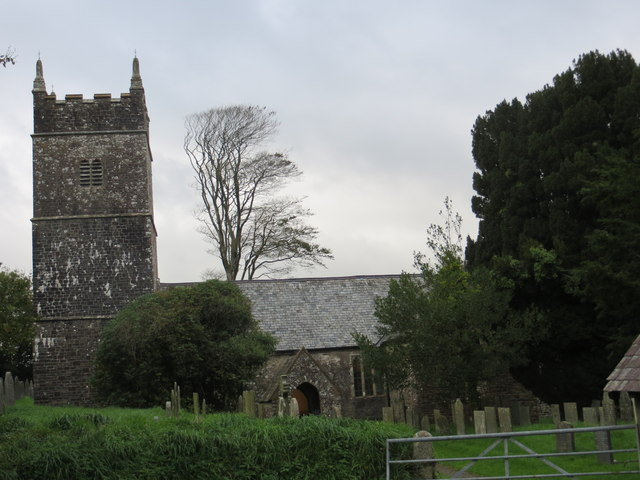 The church of St Stephen at West Putford