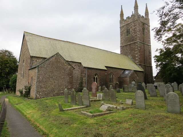 The church of St John the Baptist at Bradworthy