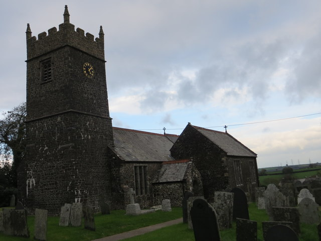 The church of St Andrew at Sutcombe