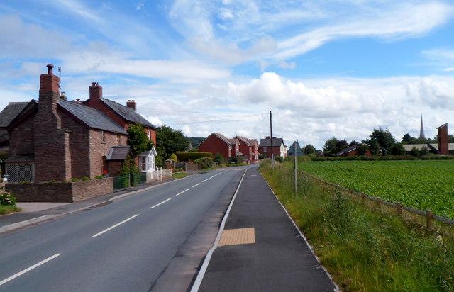 Main road through Peterchurch