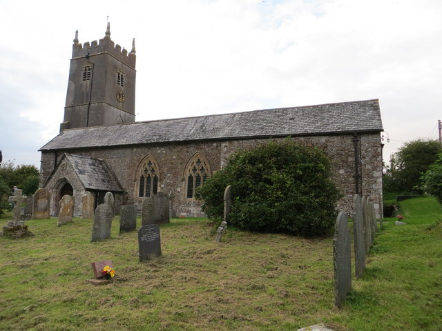The church of St Michael at Shebbear