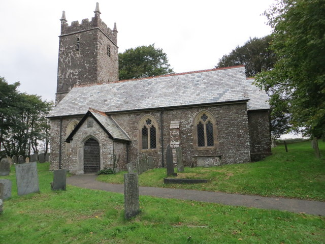 The church of St Petrock at Newton St Petrock