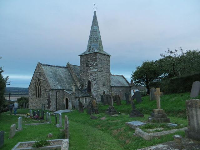 The church of St Peter at Ashford