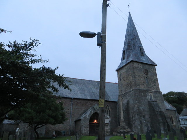 The church of St Brannock at Braunton