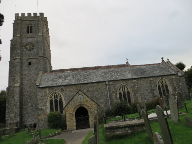 The church of St George at Georgeham