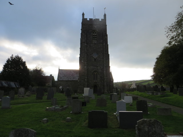 The church of St Calixtus at West Down