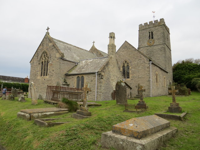 The church of St Mary at Mortehoe