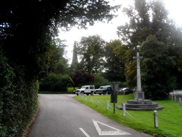 War memorial, Preston Candover