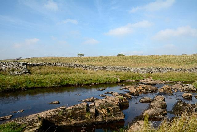 Rocks in River Greta