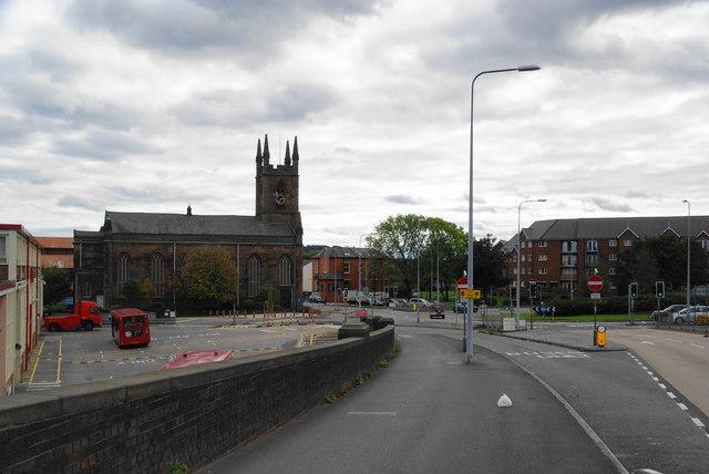 St James Church, Latchford