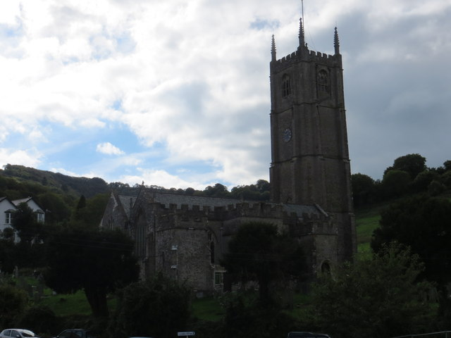 The church of St Peter ad Vincula in Combe Martin