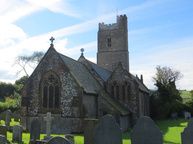 The church of St Thomas in Kentisbury