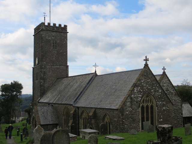 The church of St Peter in Bratton Fleming